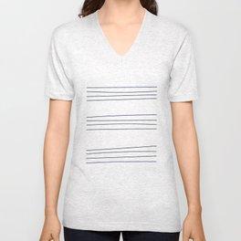 THE Striped Shirt Unisex V-Neck