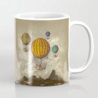 voyage Mugs featuring The Voyage by Viviana Gonzalez