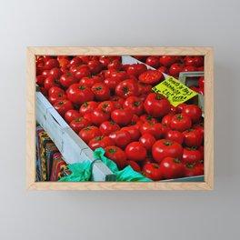 Just Tomatoes, Please Framed Mini Art Print