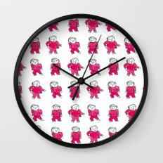twin peaks II Wall Clock