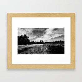 Hopewell Earthworks National Park #! Framed Art Print