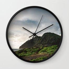 Makapu'u Point Lighthouse Wall Clock