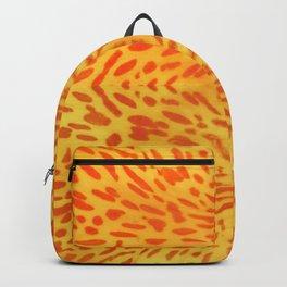 Flower petal macro pattern Backpack