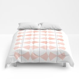 Pretty Bows All In A Row Comforters