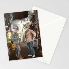 A Cats Night Out Stationery Cards