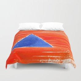 orange desert Duvet Cover
