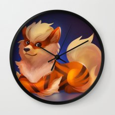 Wow Wall Clock