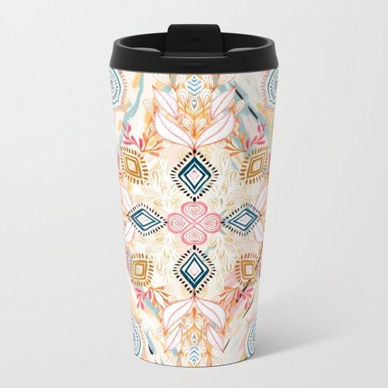 Wonderland in Spring Metal Travel Mug