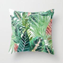 Havana jungle Throw Pillow