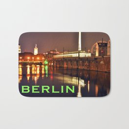 BERLIN NIGHT Bath Mat