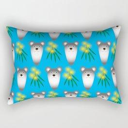 Australian Koala and Wattle Rectangular Pillow