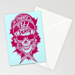 Create Till Death Stationery Cards