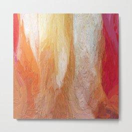 411 - Abstract Colour Design Metal Print