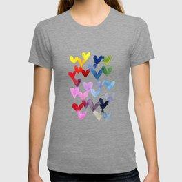 Blending hearts T-shirt