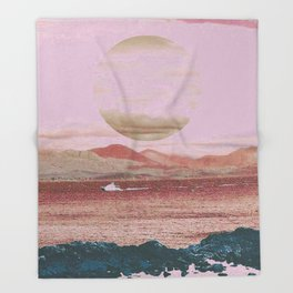 Red Sea Throw Blanket