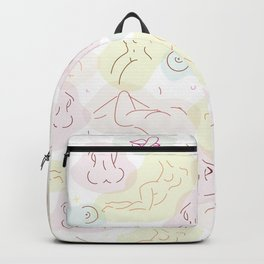 Nudes In Pastel Backpack