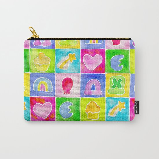 Rainbow Charms Carry-All Pouch