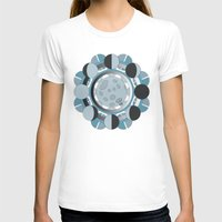 moon phases T-shirts featuring Moon Phases by TypicalArtGuy