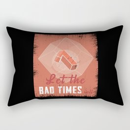 Pen And Paper Bad Times Rectangular Pillow