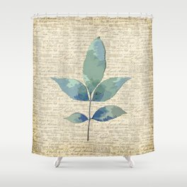 leaves. floral picture for home decor. Abstract Art. Wall art decorative 7 Shower Curtain