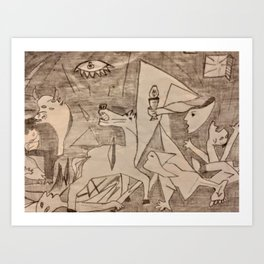 Guernica Art Print