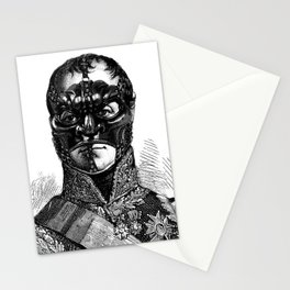 Noh Mask  Stationery Cards