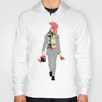 rooster Hoodies featuring Rooster by Nathalie Otter