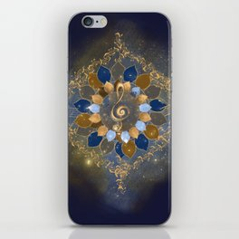 Treble Cosmos iPhone Skin