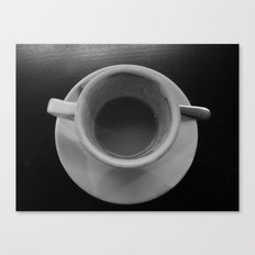 Time share coffee and tea Canvas Print