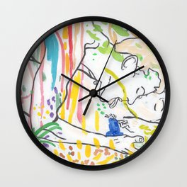 Scentsual Wall Clock