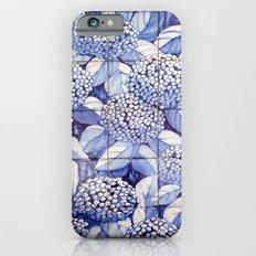 Floral tiles iPhone 6s Slim Case