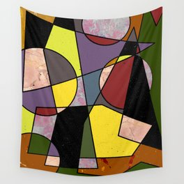 Abstract #102 Wall Tapestry