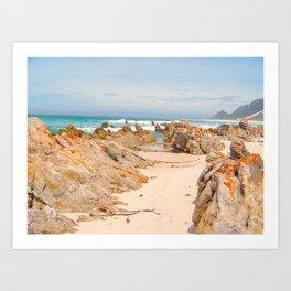 """Rooi Els Beach (i)"" by ICA PAVON Art Print"
