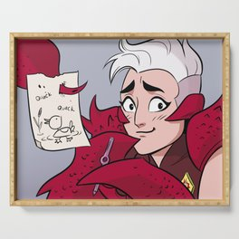 Scorpia the Artist Serving Tray