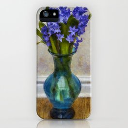 Hyacinyth Heaven iPhone Case