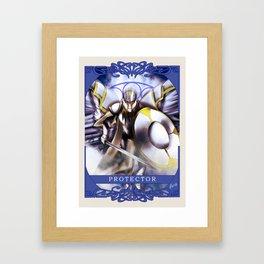 Wings Of Faith : Protector Framed Art Print