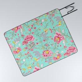 Hatsumo Exquisite Oriental Pattern III Picnic Blanket