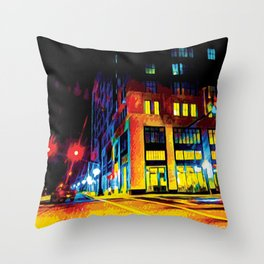 Southern Nights Throw Pillow