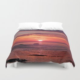 The Flamboyant One Duvet Cover