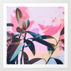 Painted Botanics Art Print