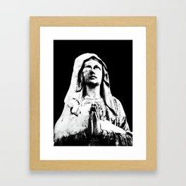 Cold Prayer  Framed Art Print