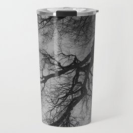 Lungs of the Earth | Nature Photography | Weeping Willow | Black and White | black-and-white | bw Travel Mug
