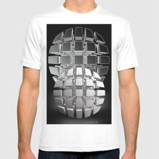 Bullets MEDIUM Mens Fitted Tee White