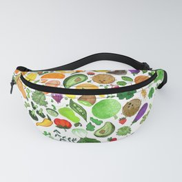 Fruit and Veg Pattern Fanny Pack