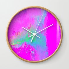 08-03-13 (Cave Glitch) Wall Clock