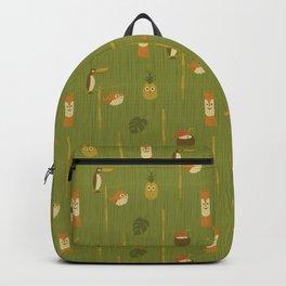 Kitschy Tiki Pattern Backpack
