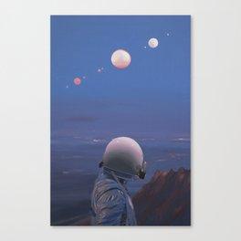 Moons Canvas Print