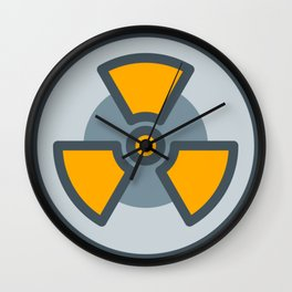 nuclear icon Wall Clock