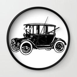 Old car 2 Wall Clock
