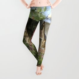 Tudor House on Kentucky Avenue Leggings